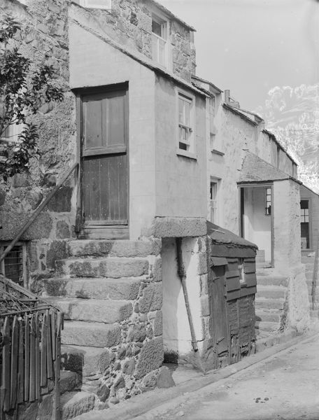 View of cottages. Photographer: Herbert Hughes