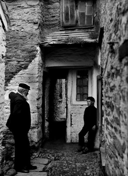 Temple Bar, Port Isaac, Cornwall. 1906