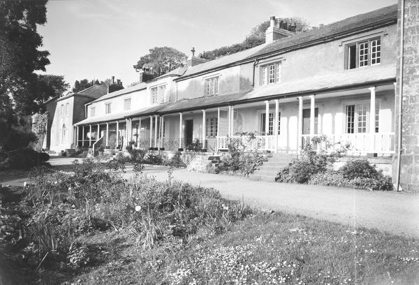 The Terrace, Pentewan, St Austell, Cornwall. 1960
