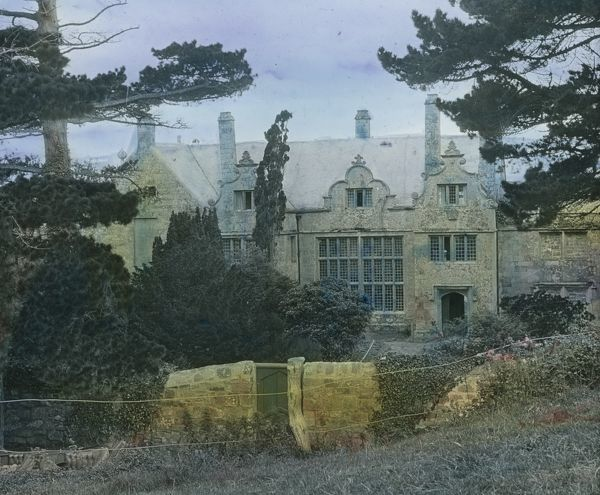 Trerice House, Kestle Mill, St Newlyn East, Cornwall. Around 1925