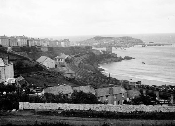 The St Ives branch was opened on 1st June 1877, by the GWR as successors to the West Cornwall Railway