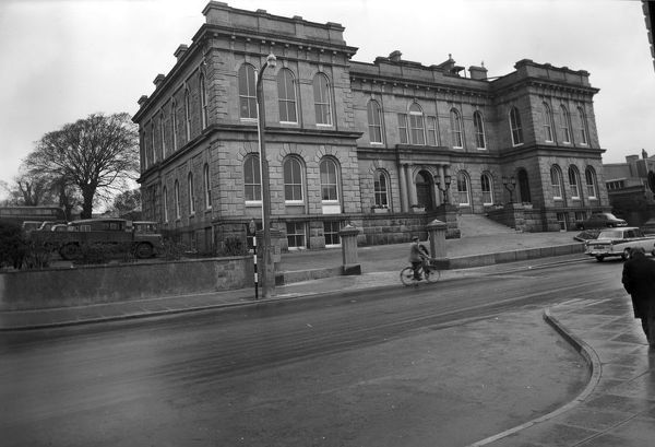 Building of St John's Hall began in 1864 and was completed in 1867. Photographer: Charles Woolf