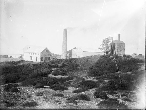 Wheal Kitty Mine, St Agnes, Cornwall. 1926-1930