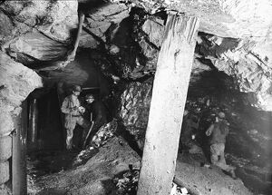 Blue Hills Mine, St Agnes, Cornwall, 1893