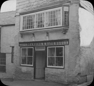 Boarding House and shop, St Columb Major, Cornwall. Around 1920