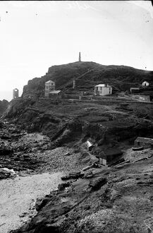 Cape Cornwall, St Just in Penwith, Cornwall. 1900