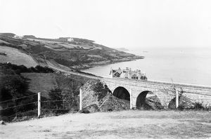 Carbis Bay viaduct, Cornwall. Early 1900s