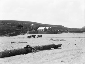 Church Cove, Gunwalloe, Cornwall. Probably early 1900s