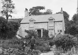 Coastguard cottage, Helford Passage, Constantine, Cornwall. Early 1900s