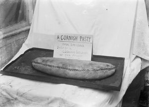Cornish Pasty for a soldier. Probably 1916