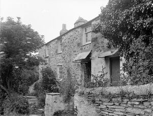 Cottages, Port Quin, St Endellion, Cornwall. June 1906