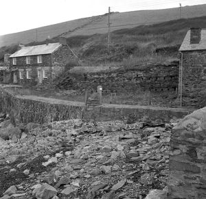 Cottages, Port Quin, St Endellion, Cornwall. 1969
