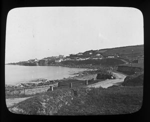 Coverack Harbour, St Keverne, Cornwall. Late 1800s
