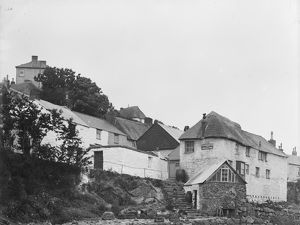 Coverack Post Office, St Keverne, Cornwall. 1908