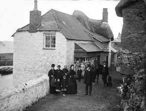 Coverack, St Keverne, Cornwall. 1890s
