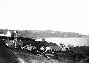 Coverack, St Keverne, Cornwall. Late 1800s
