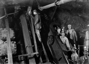 Dolcoath Mine, Camborne, Cornwall. March 1903