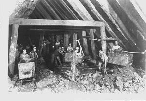 Dolcoath Mine, Camborne, Cornwall. September 1893