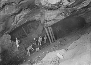 East Pool Mine, Illogan, Cornwall. Around 1892