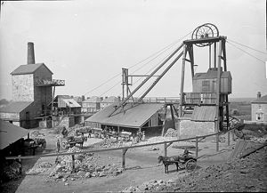 East Pool Mine, Illogan, Cornwall. 1895