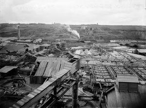 East Pool Mine, Illogan Cornwall. 1900-1909