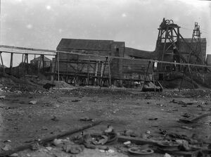 East Pool Mine, Illogan, Cornwall. 1912