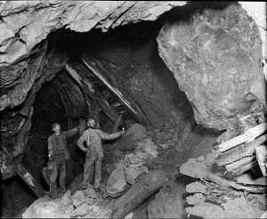 East Pool Mine, Illogan, Cornwall. Late 1800s