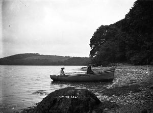 'On the Fal', Kea, Cornwall. Early 1900s