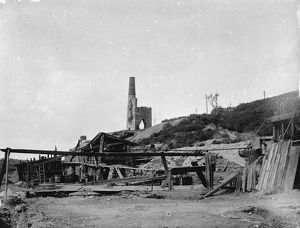 Falmouth Consolidated Mines, Wheal Jane, Kea, Cornwall. Early 1900s
