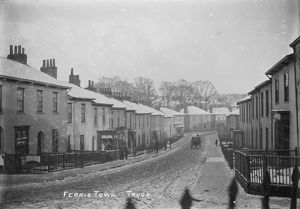 places/truro/ferris town snow truro cornwall early 1900s