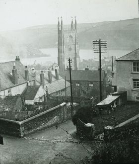 Fowey, Cornwall. Around 1925