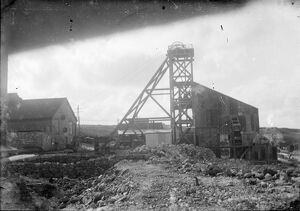 Geevor Mine, Pendeen, St Just in Penwith, Cornwall. Around 1920