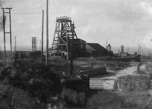 Geevor Mine, Pendeen, St Just in Penwith, Cornwall. Around 1922