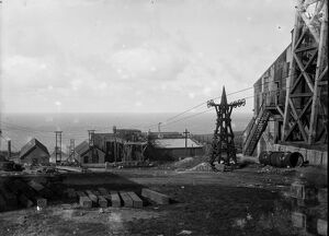 Geevor Mine, Pendeen, St Just in Penwith, Cornwall. Around 1925