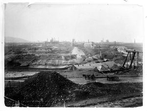 General View, Dolcoath Mine, Camborne. Early 1900s