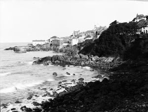 The Harbour, Coverack, St Keverne, Cornwall. 1908