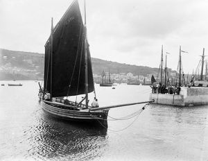 The Harbour, Newlyn, Cornwall. 1898