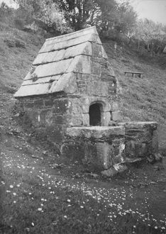 The Holy Well, St Clether Chapel, Cornwall. Date unknown