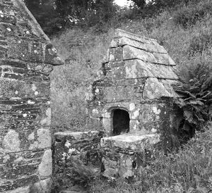 The Holy Well, St Clether Chapel, Cornwall. 1959