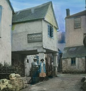 The Keigwin Arms, Mousehole, Cornwall. Around 1925