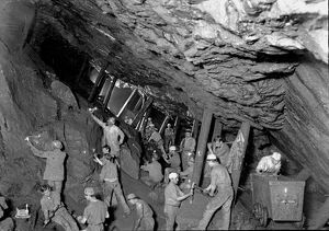 King Edward VII Mine, South Condurrow, Camborne, Cornwall. Around 1903
