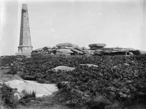 The Monument, Carn Brea, Illogan, Cornwall. Date unknown but probably 20th century