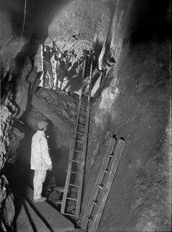 North Crofty Mine, Camborne, Cornwall. 14th May 1906
