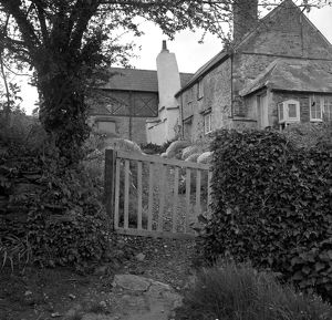 Old house in St John, Cornwall. 1962
