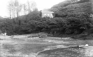 Penperth Creek, River Fal, Philleigh, Cornwall. Early 1900s