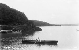 Penperth Creek, River Fal, Philleigh, Cornwall. Early 1900