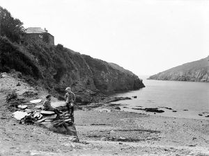 Port Quin, St Endellion, Cornwall. 1906