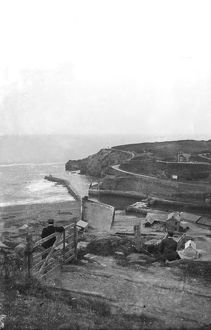 Portreath Harbour, Cornwall. 1910