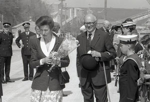 Princess Royal, Fowey, Cornwall. 1990
