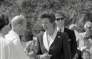 Princess Royal, Fowey, Cornwall. May 1990